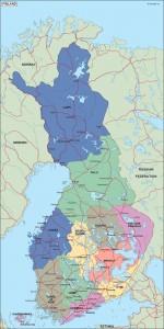 finland political map