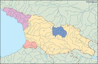 georgia blind map