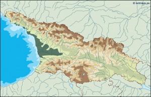 georgia illustrator map