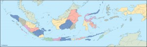 indonesia blind map