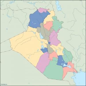 iraq blind map