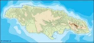 jamaica illustrator map