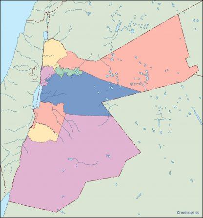 jordan blind map