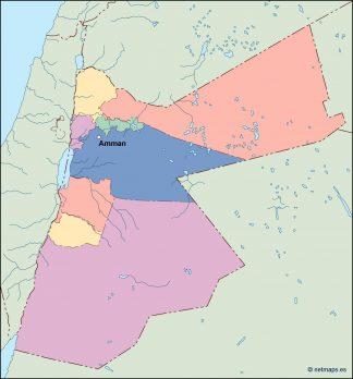jordan vector map
