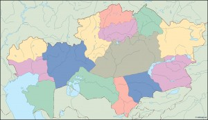 kazajstan blind map