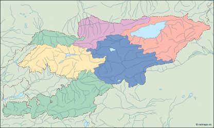 kirgizistan blind map