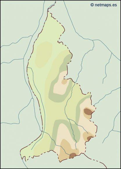 liechtenstein illustrator map