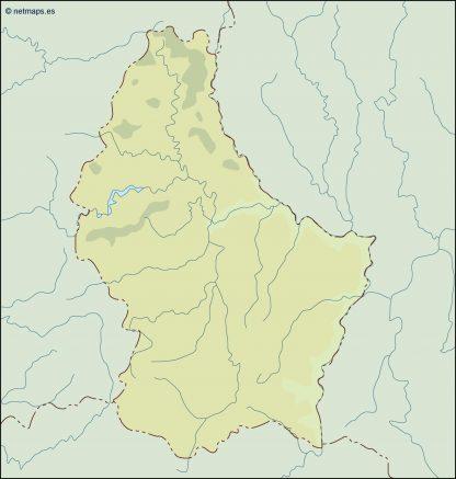 luxembourg illustrator map