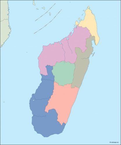 madagascar blind map