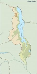 malawi illustrator map