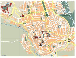 mapa caceres