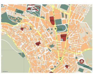 mapa jaen