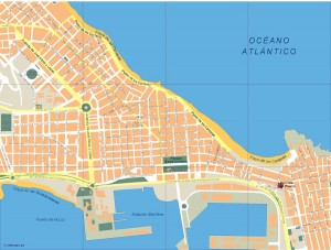 mapa las palmas de gran canaria