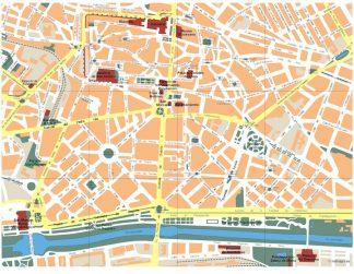 mapa leon