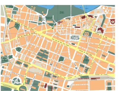 mapa logrono