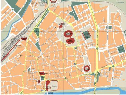 mapa merida