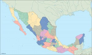 mexico blind map