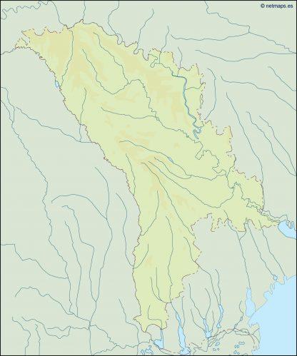 moldova illustrator map