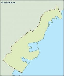 monaco illustrator map