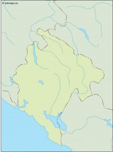 montenegro blind map