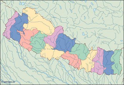 nepal blind map
