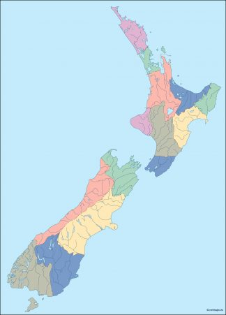 new zealand blind map