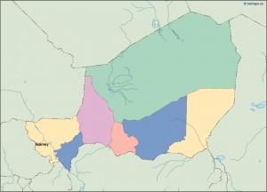 niger vector map