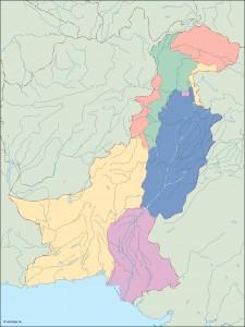 pakistan blind map