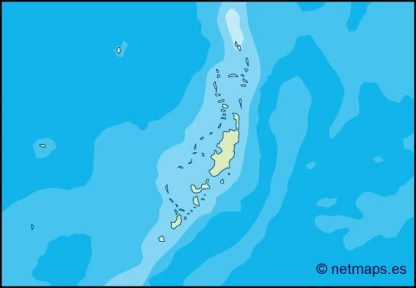 palau illustrator map