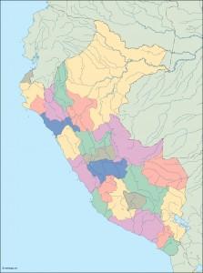 peru blind map