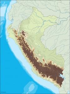 peru illustrator map