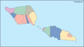 samoa blind map