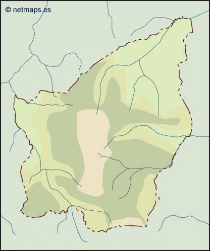 san marino illustrator map