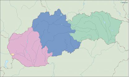 slovakia blind map