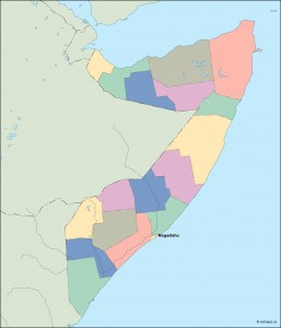 somalia vector map
