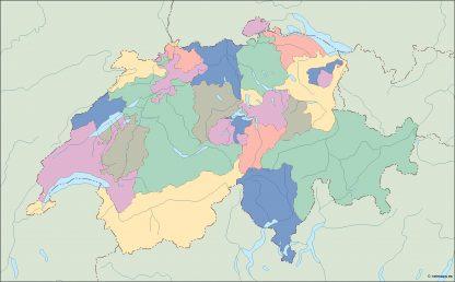 switzerland blind map