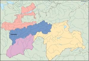 tayijistan vector map