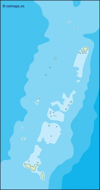 tonga illustrator map