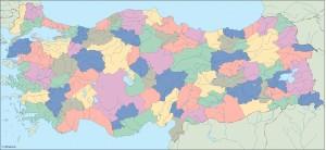 turkey blind map
