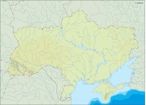 ukraine illustrator map