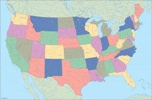 usa blind map