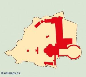 vatican blind map