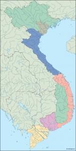 vietnam blind map