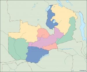 zambia blind map