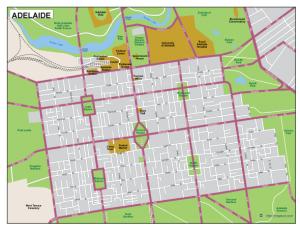 Adelaide EPS map