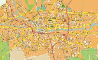 Bydgoszcz EPS map