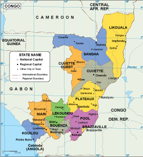 Congo EPS map