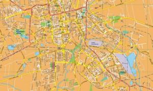 Csestochowa EPS map