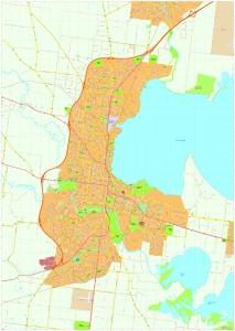 Geelong Vector Maps