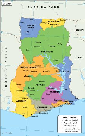 Ghana EPS map